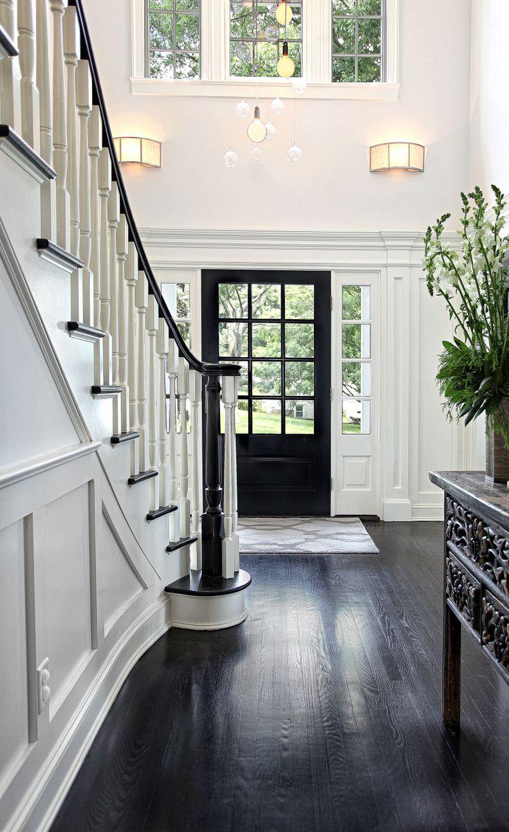 12 lite over 1 panel paint grade door with 4 lite over 1 panel sidelites & 27 best Upstate Door Custom Exterior Designs images on Pinterest ...