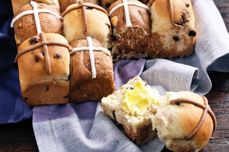Celebrate Easter with mouthwatering hot-cross buns for family and loved-ones.