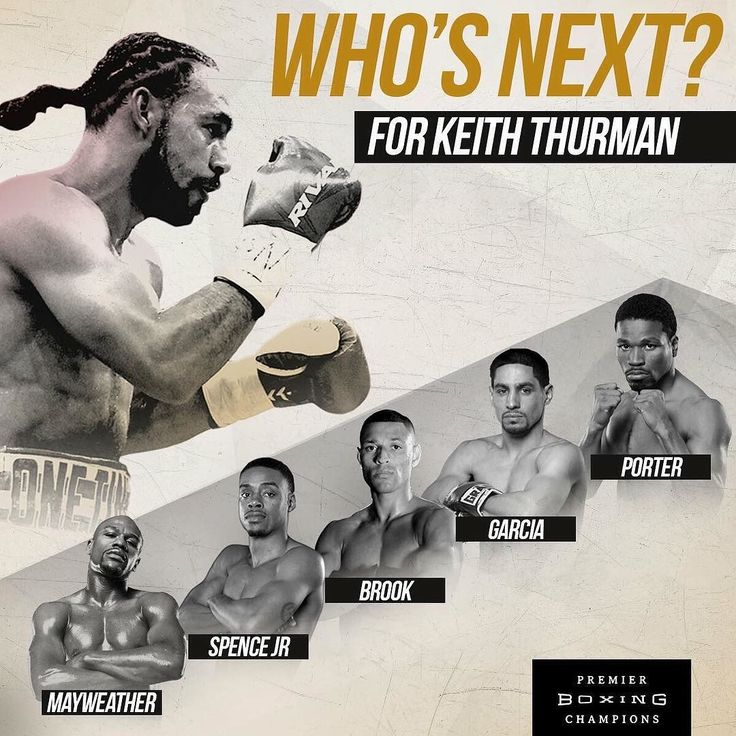 """Who is next for Keith Thurman? Comment below with who you would like to see take on """"One Time"""" #boxing"""