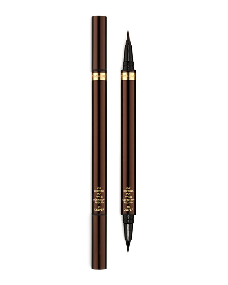 TOM FORD Eye Defining Pen DetailsComplete the look of the Tom Ford seductive eye with exceptional polish, using the innovative, dual-ended liquid liner. Formulated in the blackest shade of black, it d