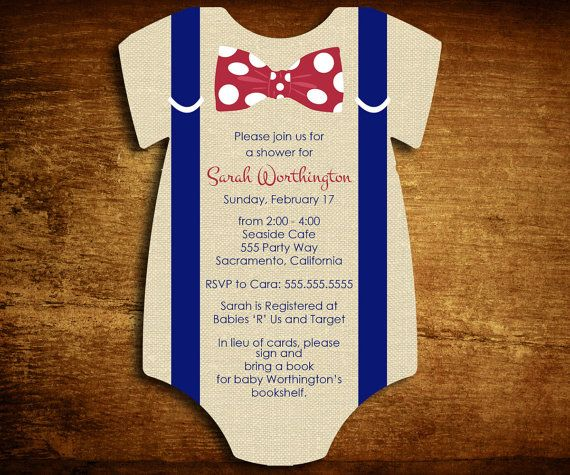 best baby shower .. images on   boy baby showers, Baby shower invitation