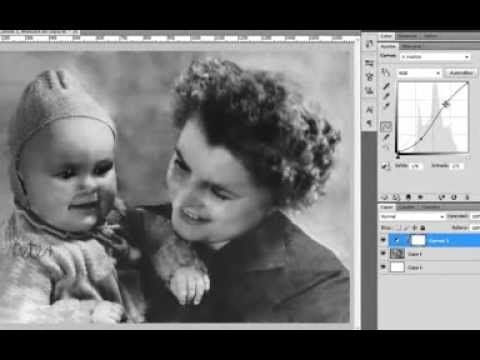Restauración de fotos - PhotoShop (Parte 2) - YouTube