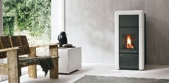 ECOFIRE Sophie 9kW , Wood Pellet Stoves by Palazzetti
