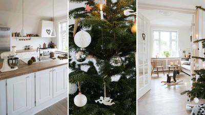 Una casa con muchos detalles navideños