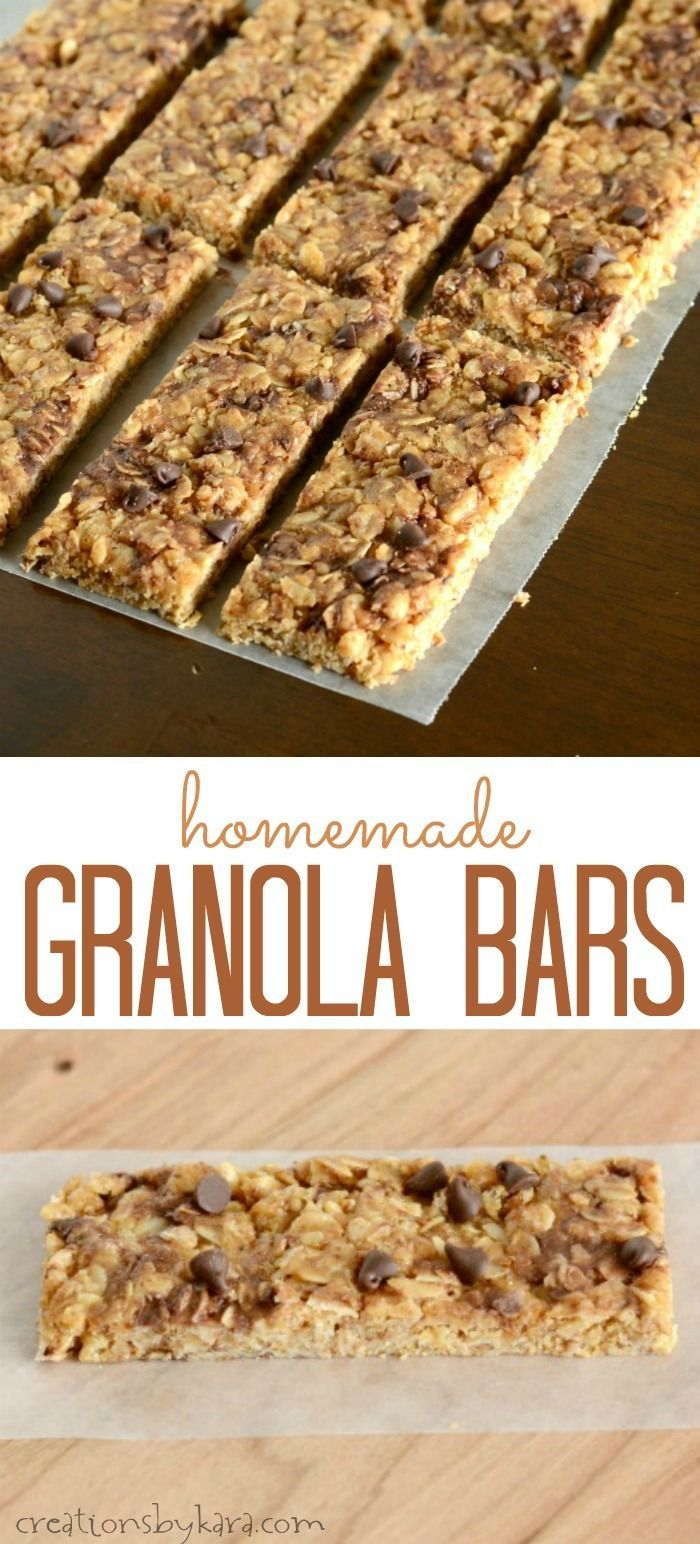 Recipe for scrumptious healthy no-bake chewy homemade granola bars.