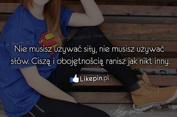 Nie musisz używać siły, nie musisz…  Źródło: www.Likepin.pl