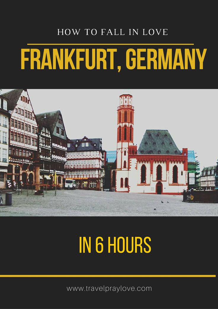 Germany, I haven't forgotten about you!! I mean, how could I with views like this;  MY DAY IN FRANKFURT, GERMANY – 8 HOURS AND 52 MINUTES BETWEEN FLIGHTS This itinerary inc…