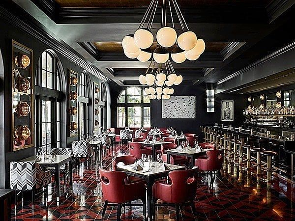 Thanks to @martynbullard who presents his just completed Design for Blackbird Restaurant in Santa Barbara ! Delicious food and decadent Design .... two ingredients that make for a very Happy New Year !#designanddecoration@hotelcalifornian#blackbird…