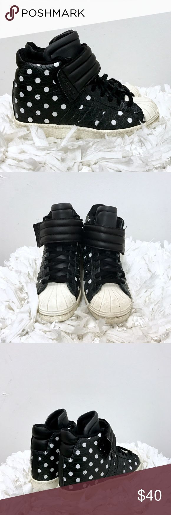 Adidas hidden wedge sneakers Sz 7 Adidas hidden wedge sneakers. Sz 7. Very good condition. Some normal wear. Adidas Shoes Sneakers