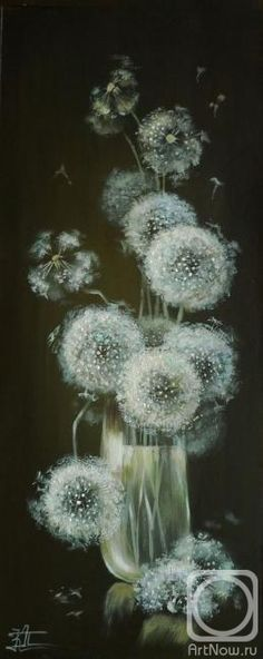 """Dandelions: """"Make a wish ~ and throw your cares to the wind!"""""""