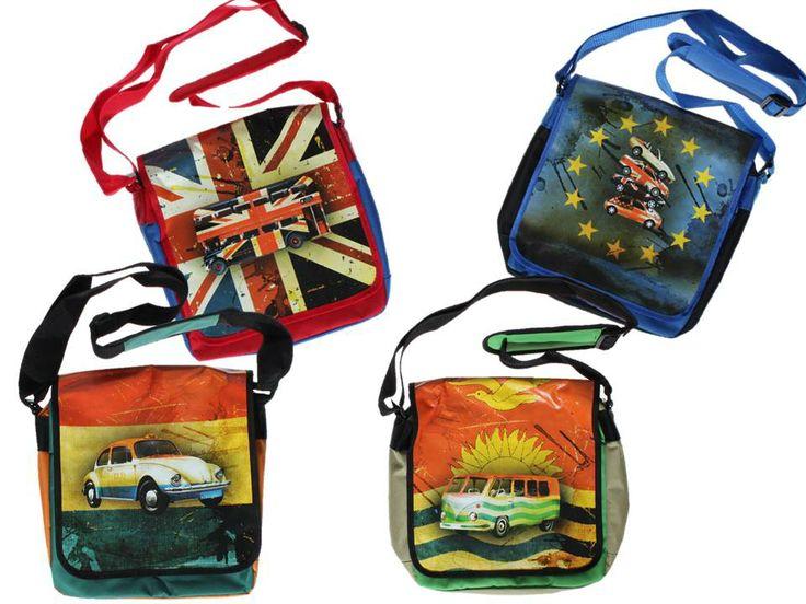 De postbags voor stoere jongens uit de Dutch Heroes winter 2013 collectie! Stoere jongenstassen, tassen, jongenstassen, Dutch Heroes