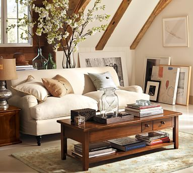 Carlisle Slipcovered Sofa #potterybarn