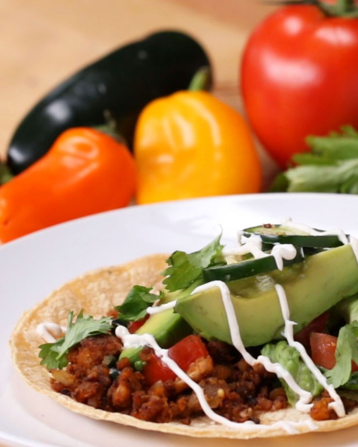 Meatless Tacos 5 Ways by Tasty