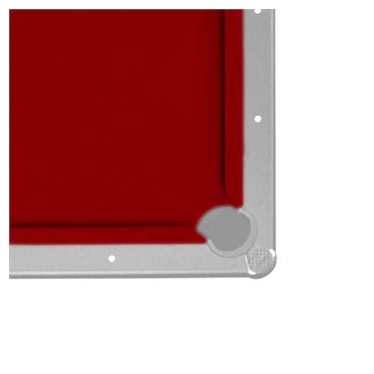 Championship Saturn II Felt 7-ft. Billiard Pool Table Cloth Set, Dark Red