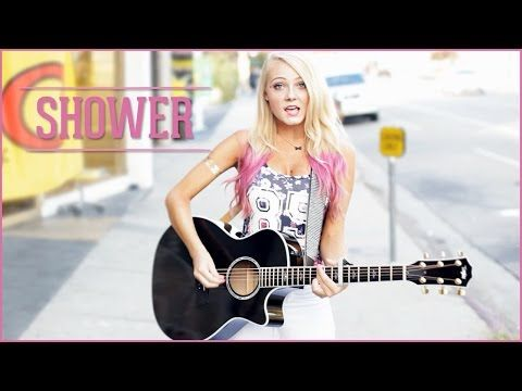 Shower - Becky G (Acoustic Cover by Alexi Blue) - On iTunes &