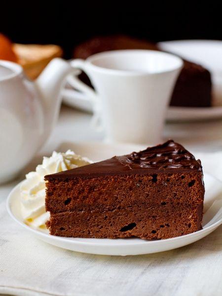 """Шоколадный торт a la """"Sacher"""""""
