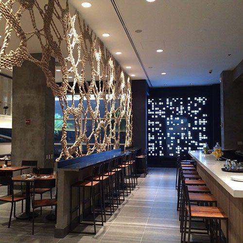 STIX By A2 INTERIOR STUDIO Divider ScreenRoom Interior DesignRoom Dividers RopesDining RoomsRestaurantsScreens