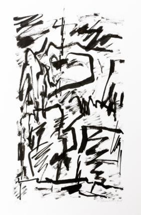 Jan Schoonhoven - ink on paper