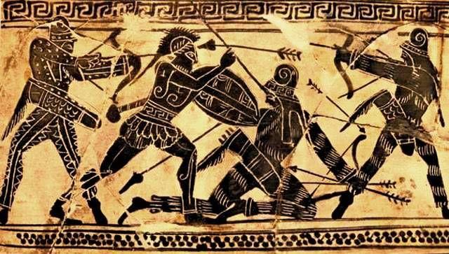 Αποτέλεσμα εικόνας για ancient greek persian war