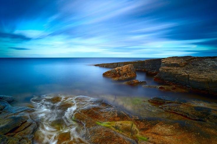 Brantevik Coast by Magnus Larsson. Nikon D800E, Zeiss Distagon T*, 21mm, 390 sec, f/8, 100.