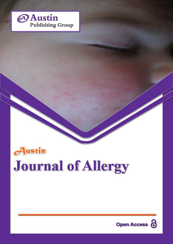 http://austinpublishinggroup.com/allergy/ Austin Journal of Allergy is an open access, peer reviewed, scholarly journal dedicated to publish articles in all areas of allergy and immunology.