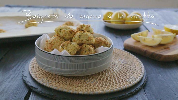 Beignets de morue à la ricotta | Cuisine futée, parents pressés