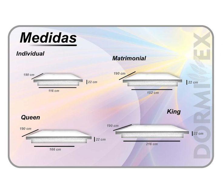 M s de 25 ideas incre bles sobre medidas cama king en for Medidas de bases de cama queen size
