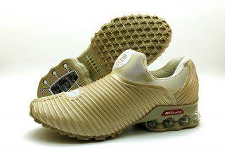 low priced 31219 43459 Nike Air Max Plus v 50 Cent Shox KPU Beige White Mens Footwear
