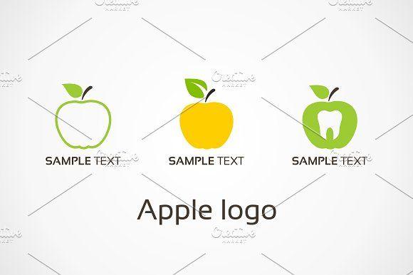 Apple logo by Vector on @creativemarket