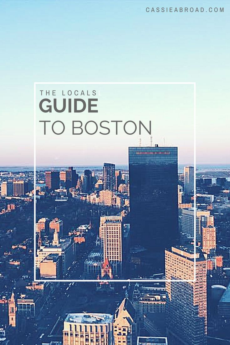 3 day itinerary for visiting Boston-where to stay, eat, and visit!