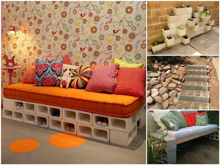 20  Proyectos DIY Con Bloques de Hormigón - http://blogmujer.org/20-proyectos-diy-con-bloques-de-hormigon/