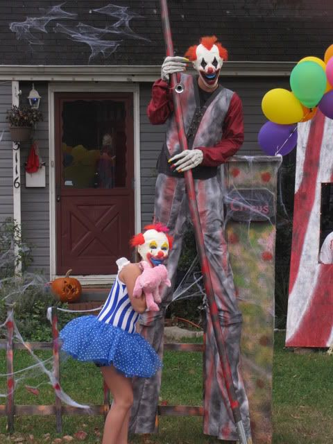 Scary stilt costume - photo#18