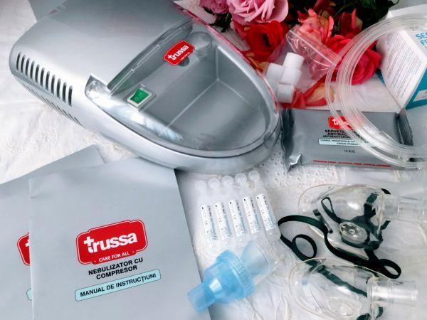 TRUSSA, un nebulizator bun pentru întreaga familie Astăzi vă vorbesc din nou despre mine și familia mea și despre sănătatea aparatului respirator. Exista