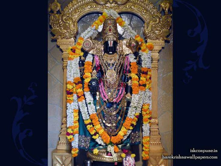 Sri Balaji Wallpaper   Click here to get more sizes...http://harekrishnawallpapers.com/sri-balaji-iskcon-pune-wallpaper-007/   TO SUBSCRIBE: You can also subscribe and get daily quotes in your mail box : http://harekrishnacalendar.com/subscribe