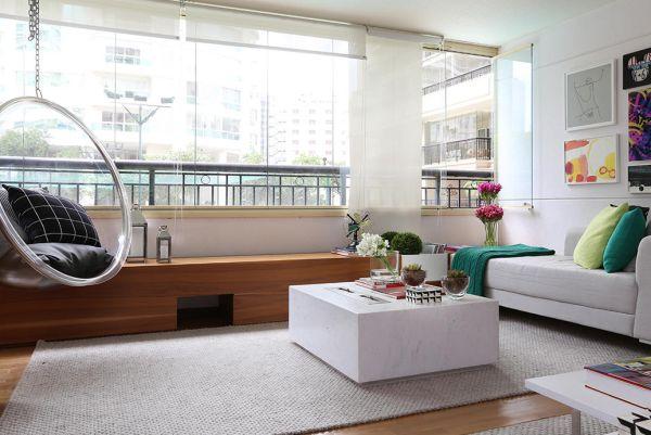 sala com varanda integrada 5