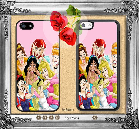 Disney princess iPhone 5 case, iPhone 5C Case, iPhone 5S case, iPhone 4 Case iPhone case Phone case ifg-00010 on Etsy, $10.02 CAD