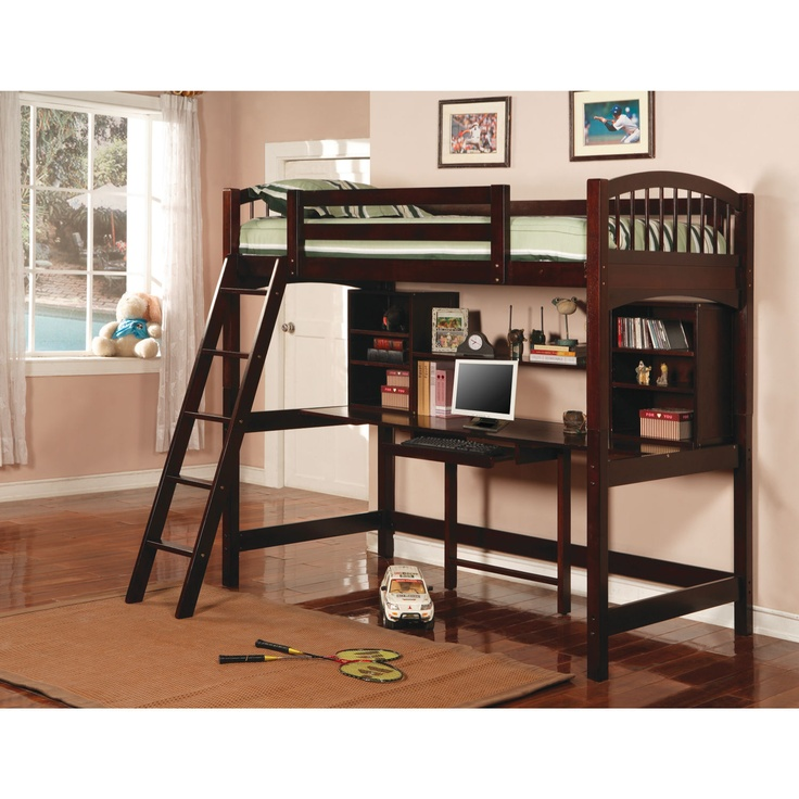 Walmart Bunk Beds with Desk 736 x 736
