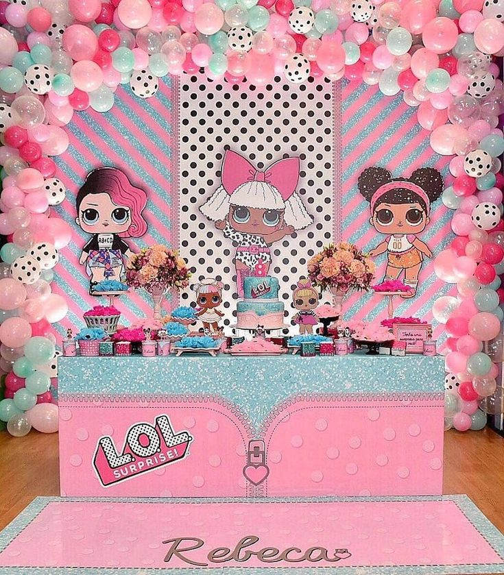 103 best lol surprise theme party images on pinterest boutique lol birthday party solutioingenieria Images