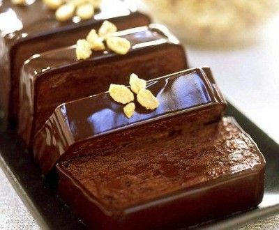 Peanut Butter-Chocolate Terrine | Gourmet Kosher Cooking