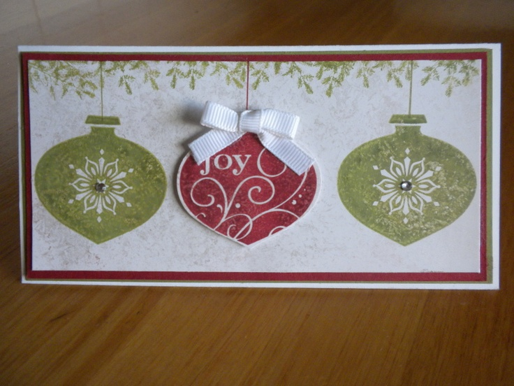 17 Best Images About Christmas Love On Pinterest: 17 Best Images About Stampin Up- Ornament Punch On