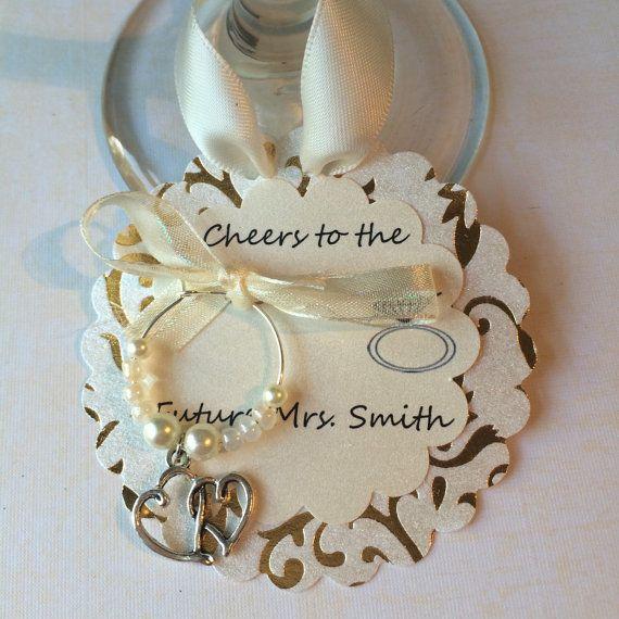 Engagement Favors-Wedding Favors Wedding Wine by FuzzHeadCrafts