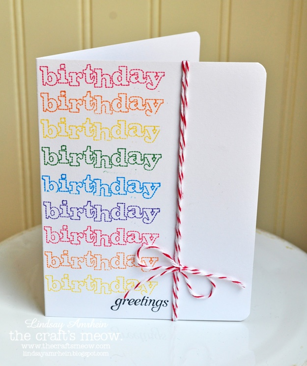 birthday card: Cards Ribbons, Cards Ideas, Birthday Chirp, Cards Birthday, Birthday Cards, Birthday Multi, Cards Happy Birthday, Cards Inspiration, Birthday Birthday