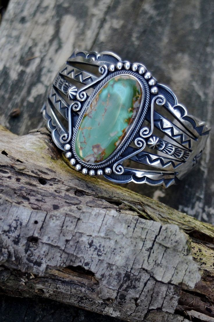 ∆∆∇∇ elementality | unique jewelry + clothing + art | incredible turquoise, authentic navajo cuff