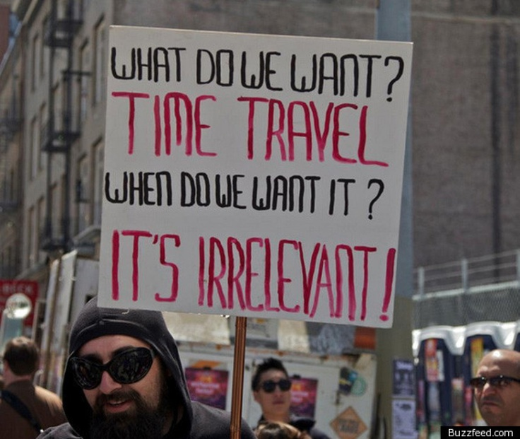 Awesome protest sign