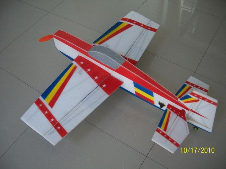 WM 37.5in Extra EPP foam electric ARF RC airplane kit  A Color scheme