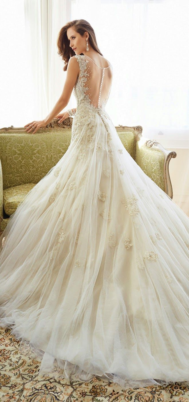 Sophia Tolli 2015 Bridal Collection - Belle the Magazine . The Wedding Blog For The Sophisticated Bride Good.