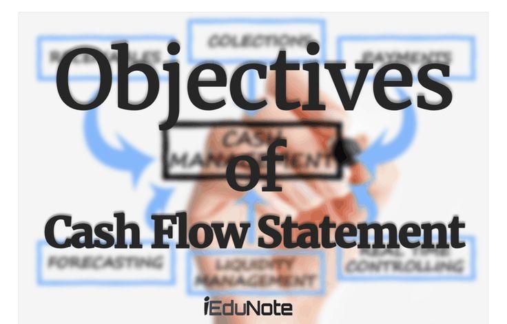 Cash Flow Statement: Definition Objectives Fix Missing Figures in Cash Flow Statement