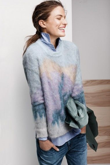 Behind the Design: Brushed Mohair Sweater - J Crew blog