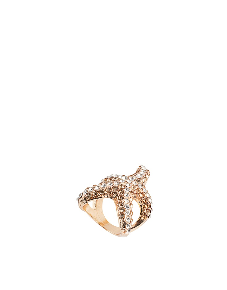 starfish ring from asos