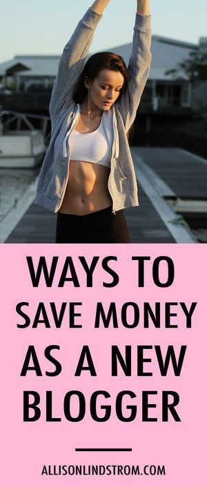 Starting a blog and looking for ways to save money? I could blog for 100 years and will always be a blogger on a budget! Here are my favorite ways to save money as a new or even established blogger.
